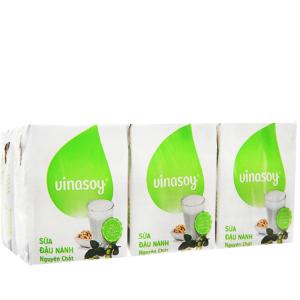 Lốc 6 hộp sữa đậu nành nguyên chất Vinasoy 200ml