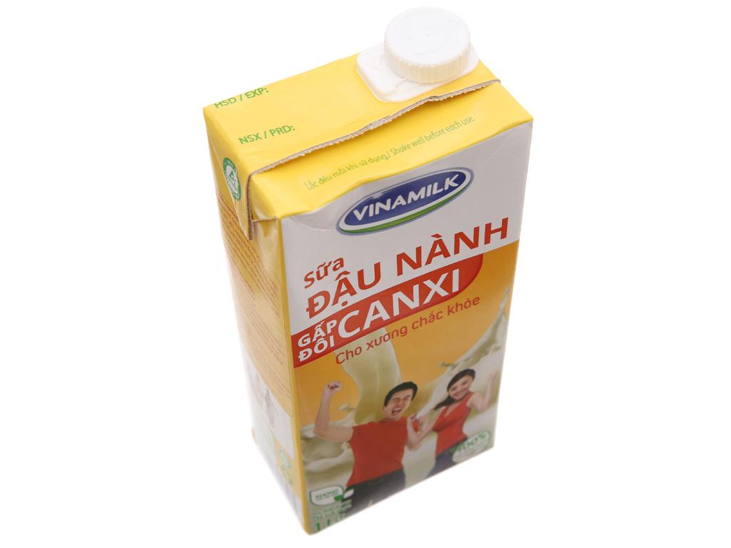 Thùng 12 hộp sữa đậu nành Vinamilk gấp đôi canxi 1 lít 4