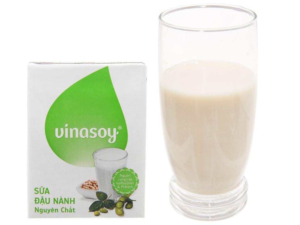 Thùng 36 hộp Sữa đậu nành Vinasoy nguyên chất 200ml 2