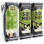 Sữa đậu nành Soy Men hương Matcha Trà xanh hộp 250ml (3 hộp)