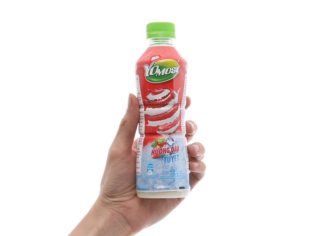 Sữa chua uống YoMost dâu tuyết 270ml 2