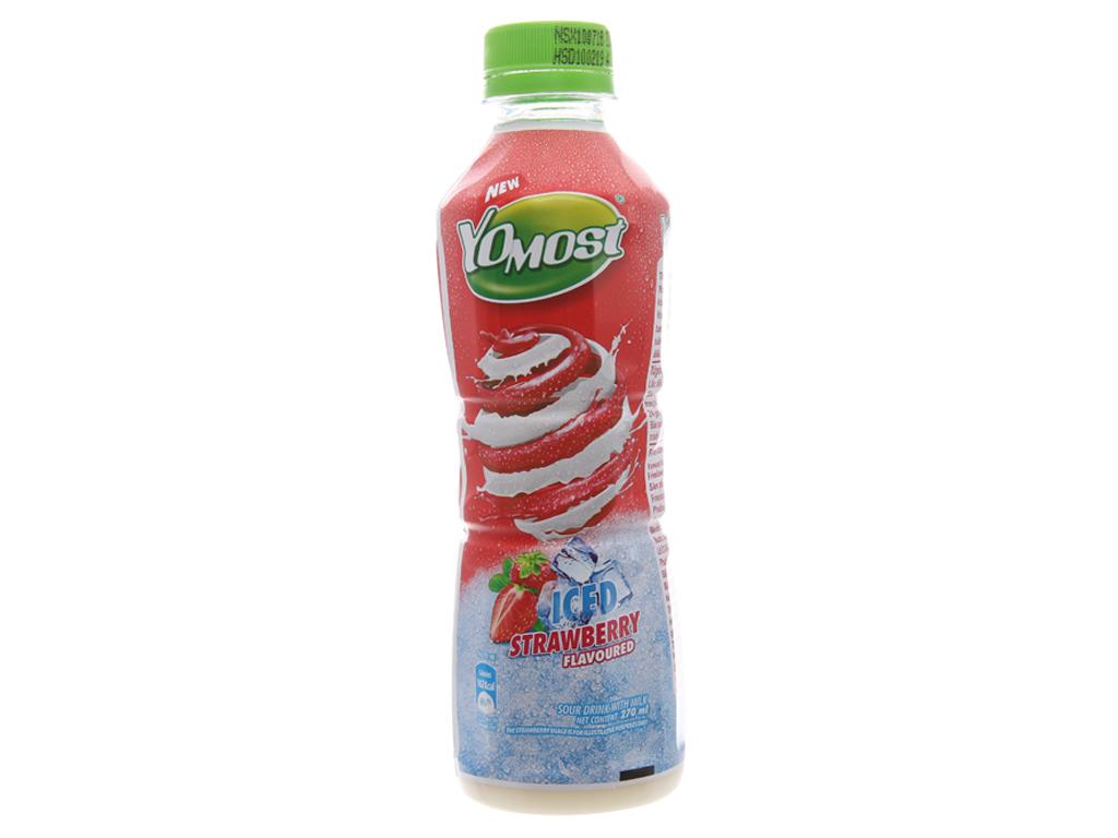 Sữa chua uống YoMost dâu tuyết 270ml 3