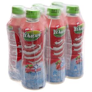 Lốc 6 chai sữa chua uống dâu tuyết YoMost 270ml
