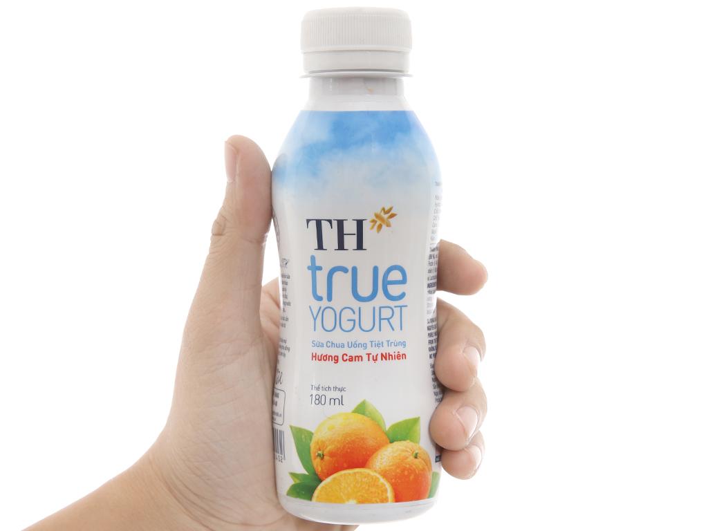 Sữa chua uống TH True Yogurt hương cam tự nhiên 180ml 3