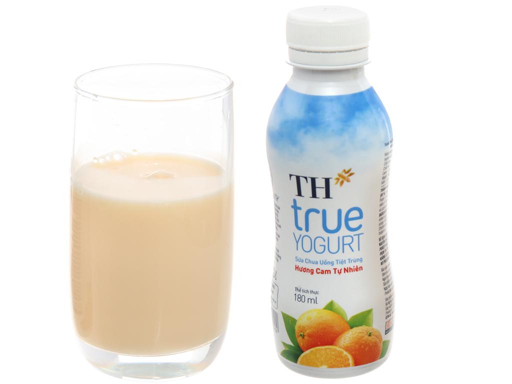 Sữa chua uống TH True Yogurt hương cam tự nhiên 180ml 4