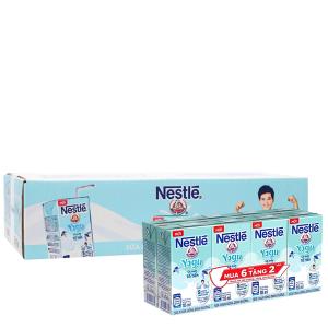Thùng 36 hộp sữa chua uống Nestlé Yogu có chứa tổ yến 115ml (tặng 12 hộp cùng loại)