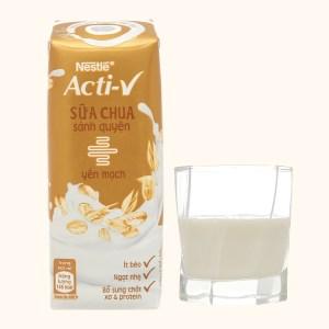 Sữa chua yến mạch Nestlé Acti-V hộp 180ml