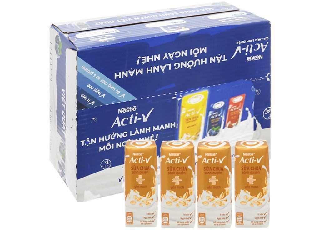 Thùng 24 hộp sữa chua yến mạch Nestlé Acti-V 180ml 1