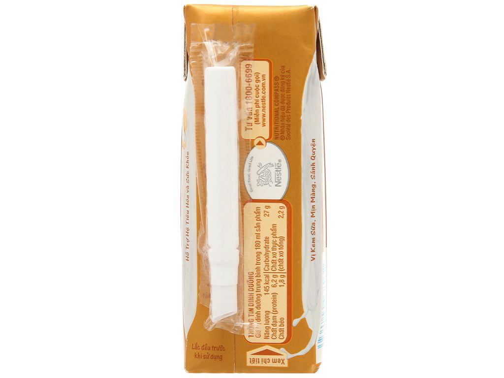 Thùng 24 hộp sữa chua yến mạch Nestlé Acti-V 180ml 3