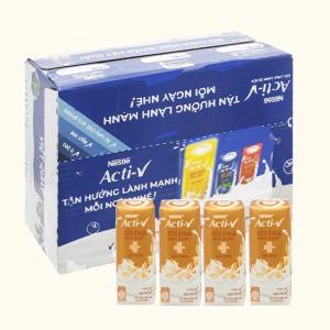 Thùng 24 hộp sữa chua yến mạch Nestlé Acti-V 180ml