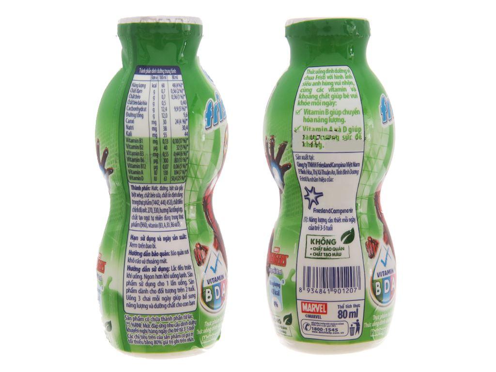 Sữa chua uống Fristi táo 80ml 4