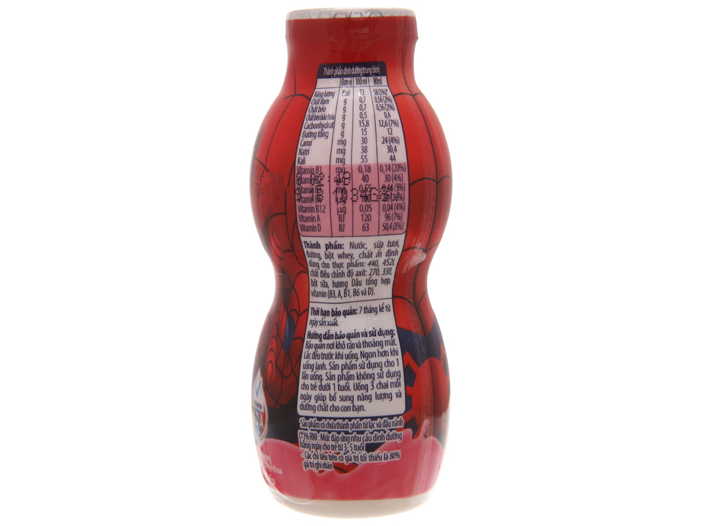 Sữa chua uống Fristi dâu 80ml 5