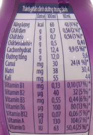 Sữa chua uống Fristi nho 80ml 6