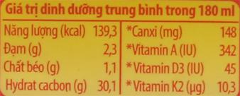 Lốc 4 hộp sữa chua uống LiF Kun kem dâu 180ml 6