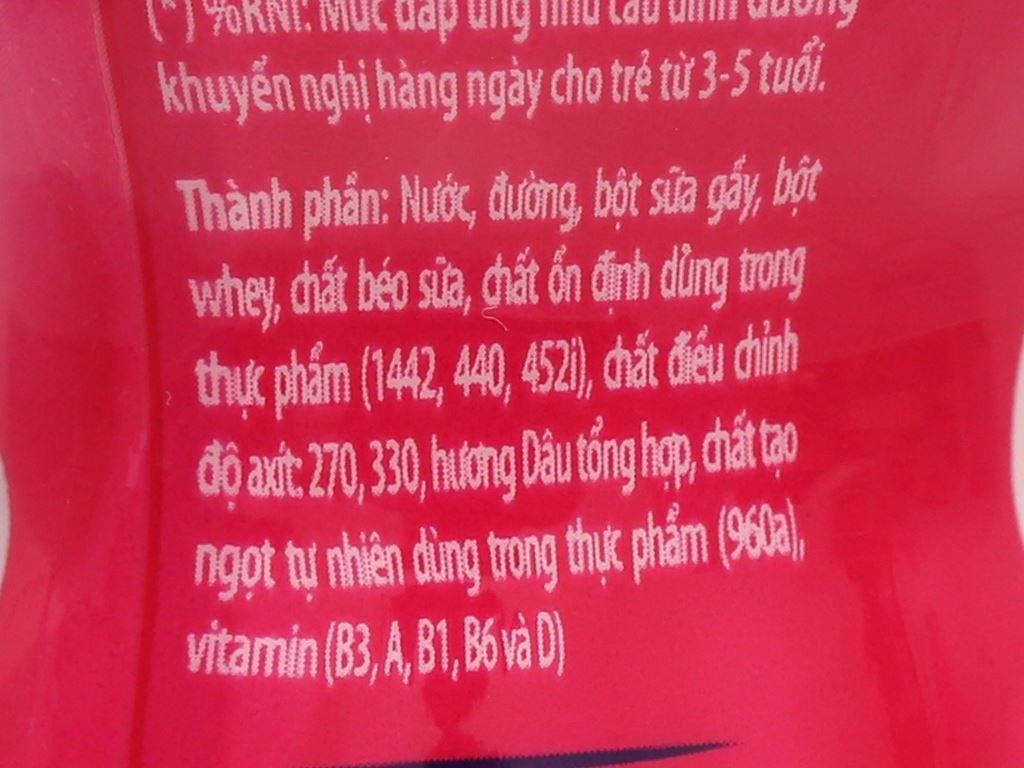 Lốc 6 chai sữa chua uống dâu Fristi 80ml 11