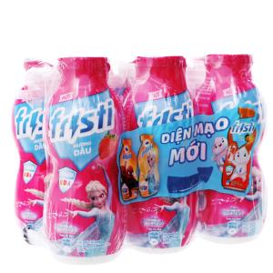 Lốc 6 chai sữa chua uống Fristi dâu 80ml