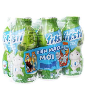 Lốc 6 chai sữa chua uống Fristi táo 80ml