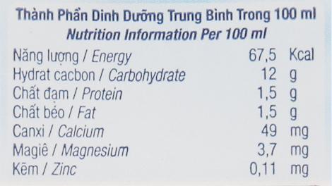 Sữa chua uống TH True Yogurt việt quất 180ml 6