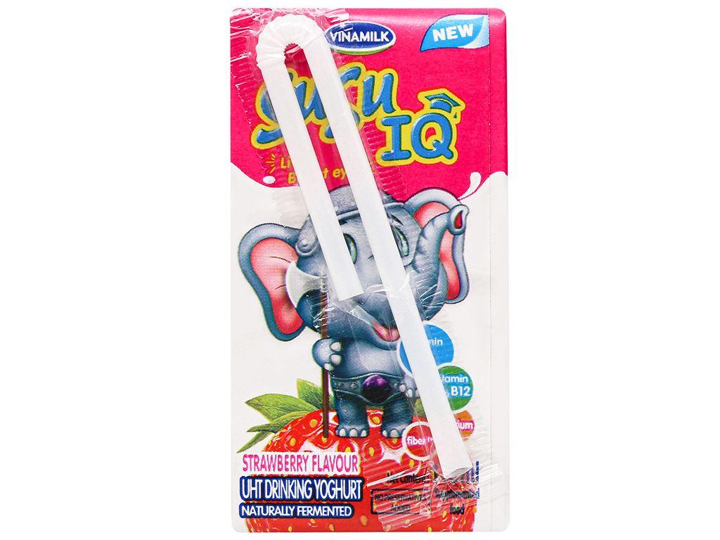 Thùng 48 hộp sữa chua uống SuSu dâu 110ml 10