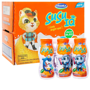 Thùng 48 chai sữa chua uống hương cam SuSu IQ 80ml