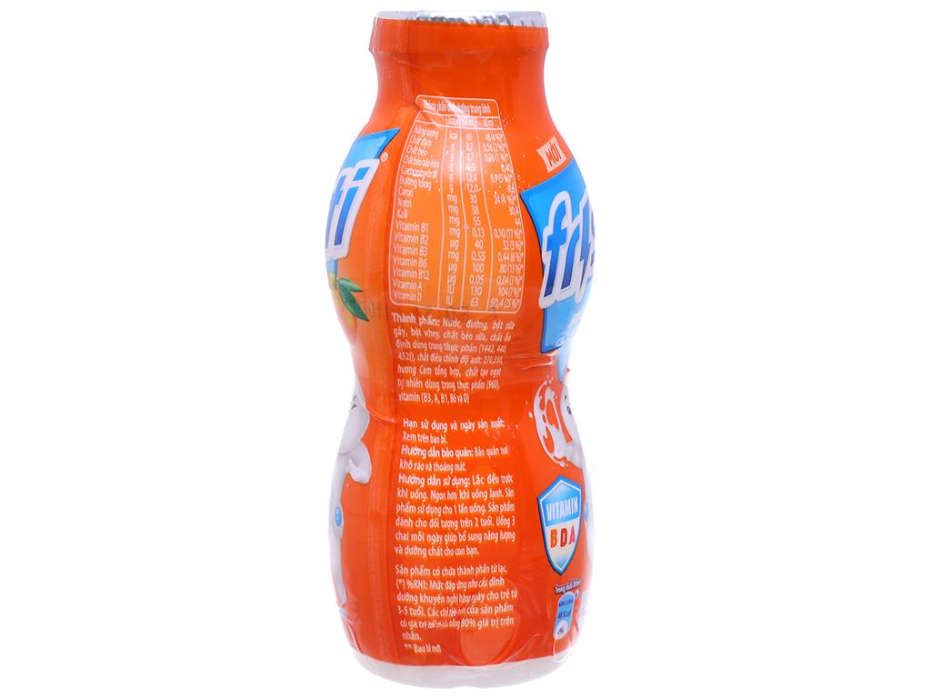 Thùng 48 chai sữa chua uống Fristi cam 80ml 4