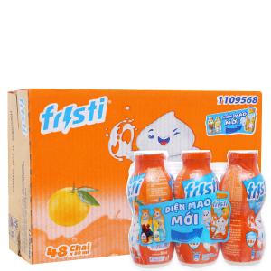 Thùng 48 chai sữa chua uống Fristi cam 80ml