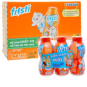 Thùng 48 chai sữa chua uống cam Fristi 80ml
