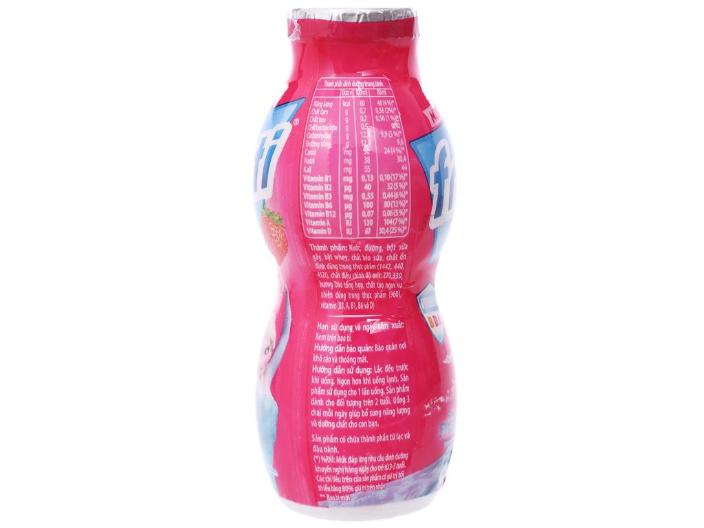 Thùng 48 chai sữa chua uống Fristi dâu 80ml 3