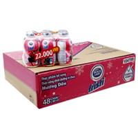 Thùng sữa chua uống Fristi hương Dâu 80ml (48 chai)
