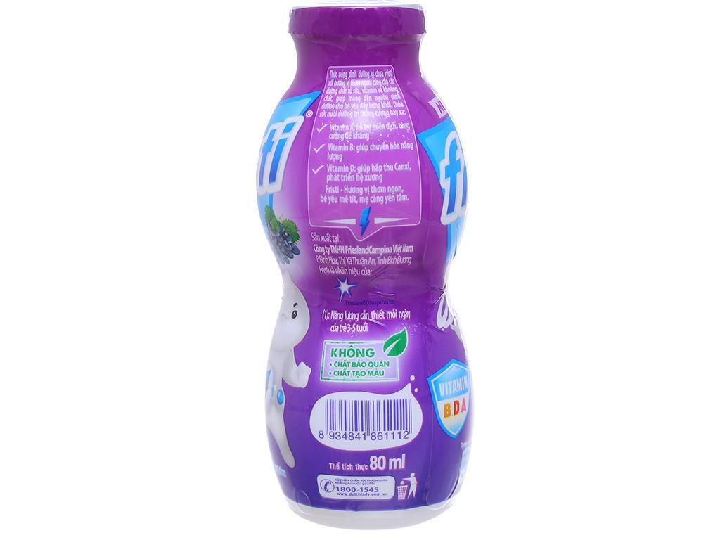 Thùng 48 chai sữa chua uống Fristi nho 80ml 5