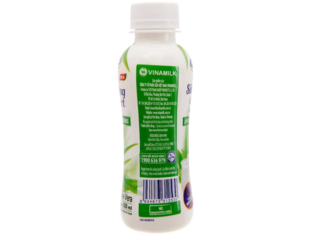 Thùng 24 chai sữa chua uống Vinamilk nha đam 150ml 4