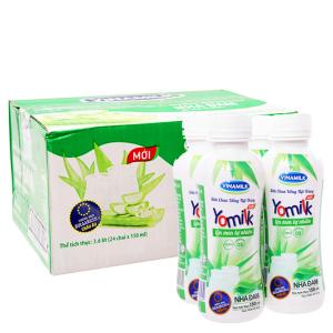 Thùng 24 chai sữa chua uống Vinamilk Yomilk nha đam 150ml