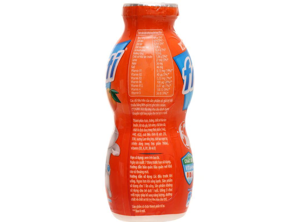 Lốc 6 chai sữa chua uống cam Fristi 80ml 8