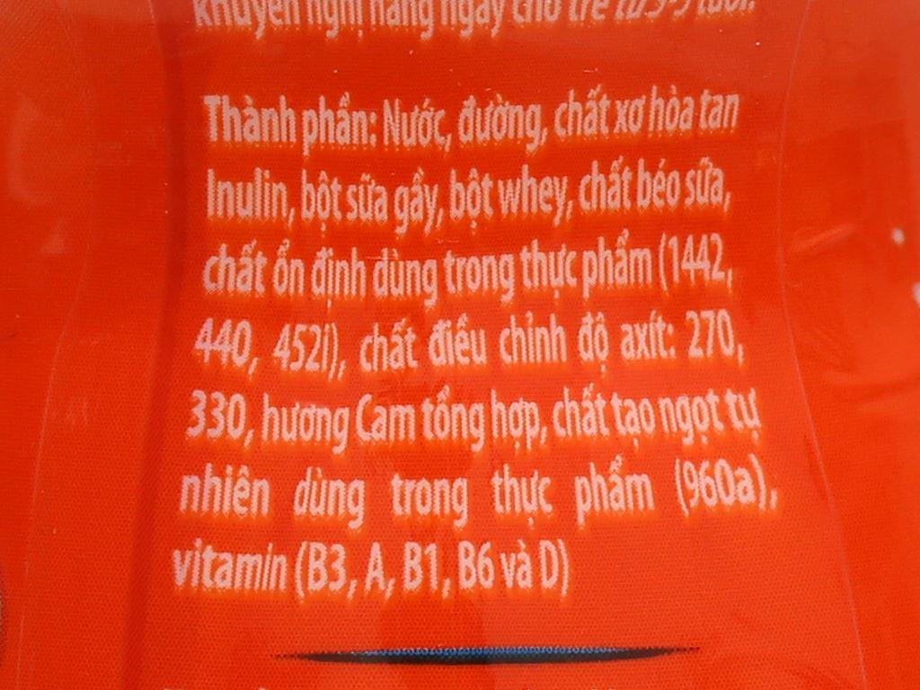 Lốc 6 chai sữa chua uống cam Fristi 80ml 9