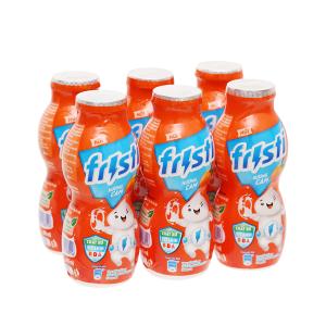 Lốc 6 chai sữa chua uống cam Fristi 80ml