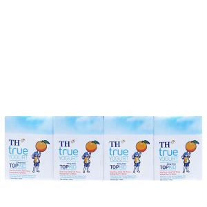 Lốc 4 hộp sữa chua uống TH True Yogurt Top Kid cam 110ml