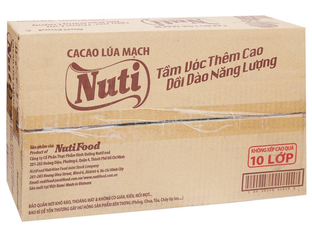 Thùng 48 hộp sữa cacao lúa mạch NutiFood 180ml 1