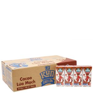 Thùng 48 hộp sữa cacao lúa mạch Kun Cao lớn 180ml