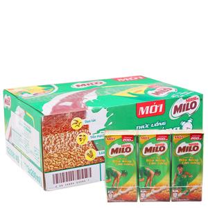 Thùng thức uống ngũ cốc Milo Bữa sáng cân bằng 200ml