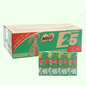 Thùng lốc 8 - 48 hộp thức uống lúa mạch uống liền Milo Active Go 180ml (phiên bản giới hạn)