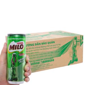 Thùng 24 lon thức uống lúa mạch uống liền Milo Active Go 240ml