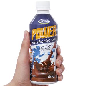 Thức uống lúa mạch socola Vinamilk Power chai 300ml