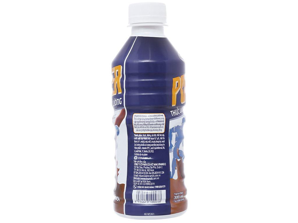 Thức uống lúa mạch socola Vinamilk Power chai 300ml 3