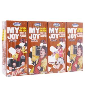 Lốc 4 hộp thức uống năng lượng Vinamilk My Joy sôcôla 180ml