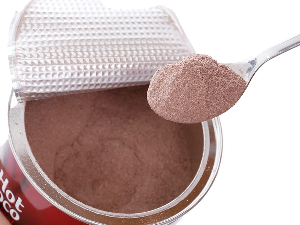 Bột ca cao Nestlé Hot Choco Original lon 600g 4