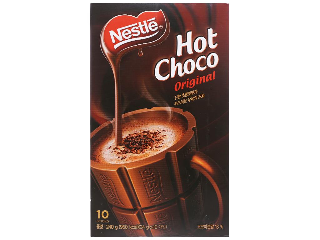 Bột ca cao Nestlé Hot Choco Original hộp 240g 1