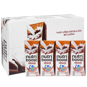 Thùng 48 hộp thức uống socola sữa bổ dưỡng Nutriboost Choco 180ml