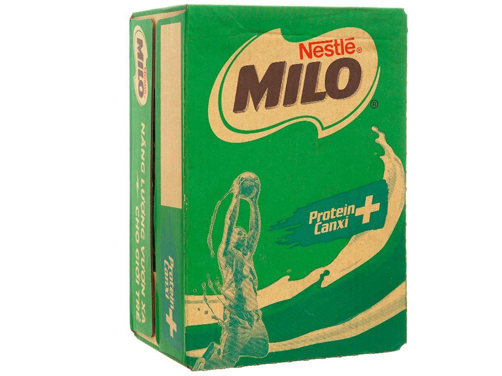 Thùng 24 hộp sữa lúa mạch Milo nắp vặn 210ml 1