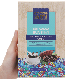 Bột sữa cacao 3in1 CacaoMi hộp 217g