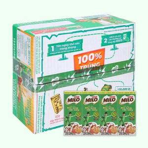 Thùng 36 hộp thức uống ngũ cốc uống liền Milo 180ml